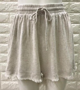 Imprint Frey Linen Shorts