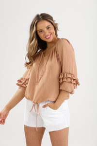 Homelove the Label Footloose Top - Cotton