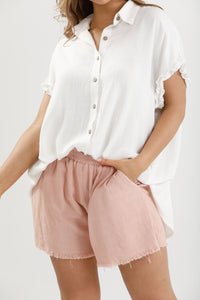Homelove the Label Footloose Shorts - Linen Viscose