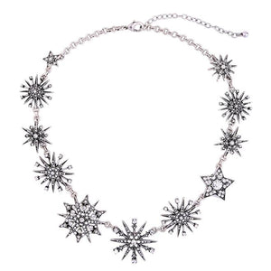 The Italian Closet Diamond Star Necklace