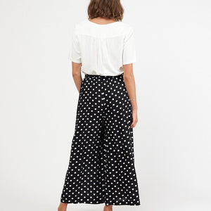 Label of Love Palazzo Pants - Black Spot