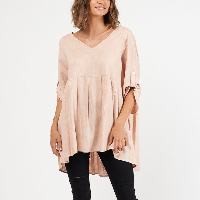 Label of Love Top - Blush