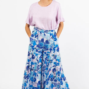 Label of Love Palazzo Pants -  Violet