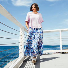 Load image into Gallery viewer, Label of Love Palazzo Pants -  Violet
