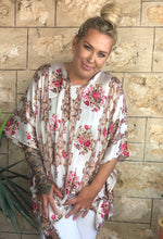 Load image into Gallery viewer, Mila Alexandra Silk Kaftan -'Tilby'