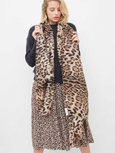 Load image into Gallery viewer, Angels Whisper 'Odalis' Light Weight Scarf - Leopard Print