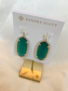 Kendra Scott Elle Earring- Emerald