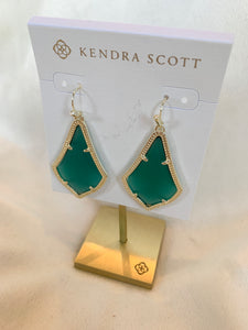 Kendra Scott Alex Earring- Emerald