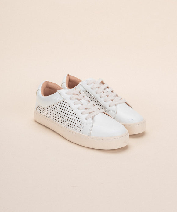 The Classic White Street Sneaker
