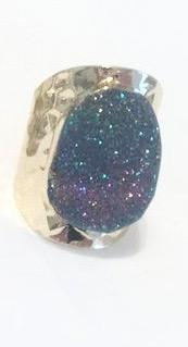 Rock On Druzy Rings