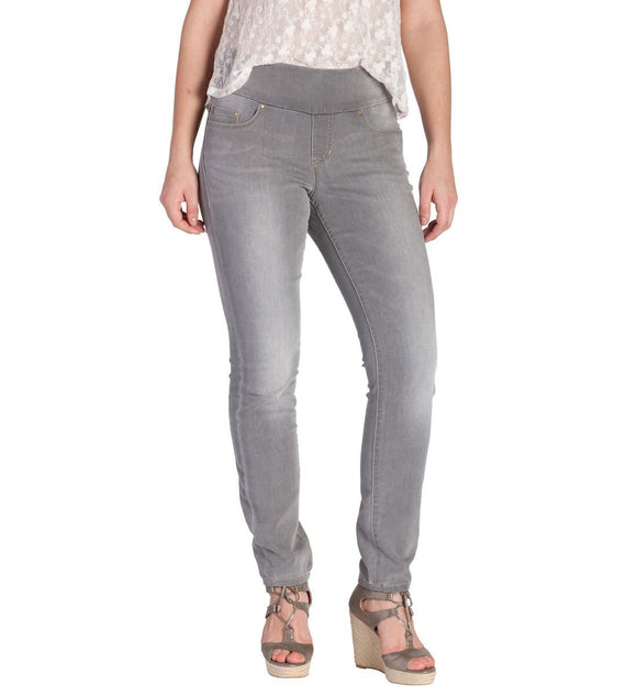 High Rise Gray Skinny Jeans