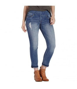 Slim Ankle Blue Wash Jeans