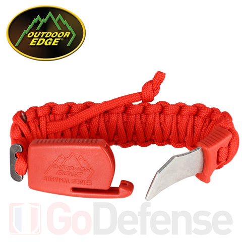 Bracelet Para-Claw Outdoor-Edge Rouge