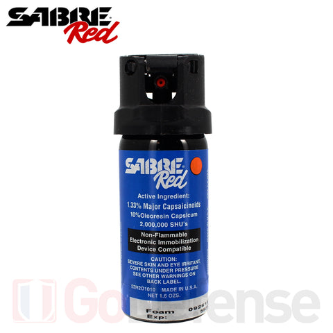 Aérosol Sabre Red MK2 Law Enforcement 44ML Mousse