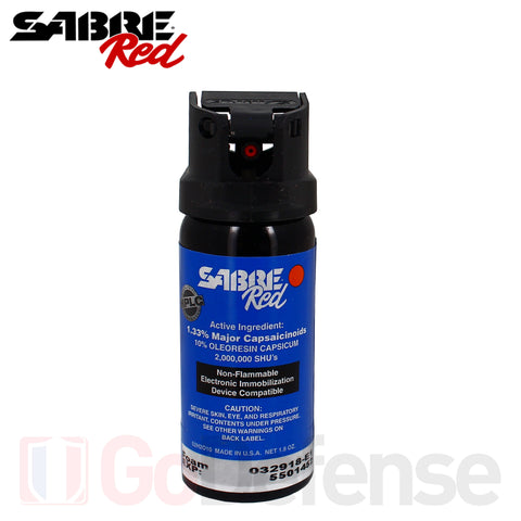 Aérosol Sabre Red MK3 Law Enforcement 54ML Mousse