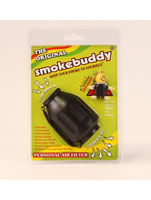 SmokeBuddy (Black) Personal Air Filter (Original)