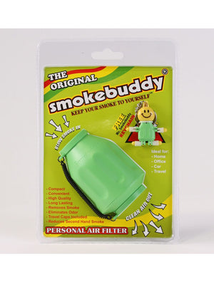 SmokeBuddy (Lime Green) Personal Air Filter (Original)