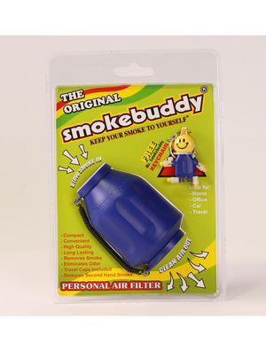 SmokeBuddy (Blue) Personal Air Filter (Original)