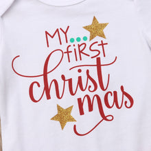 Load image into Gallery viewer, My First Christmas Baby Girls Clothes