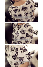 Load image into Gallery viewer, Cats Fashion Blouse