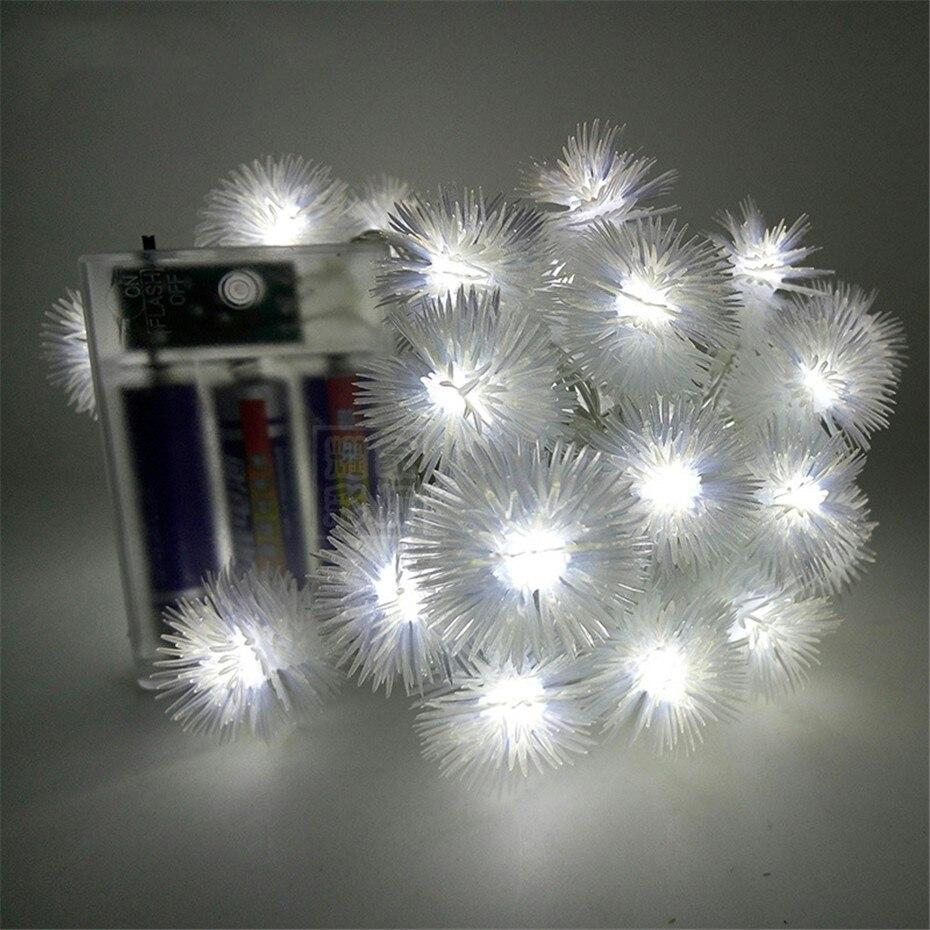 LED Snowflake Lights
