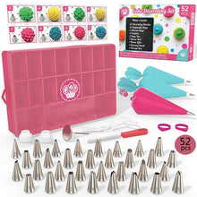 Load image into Gallery viewer, 52 Piece Cake Decorating Set