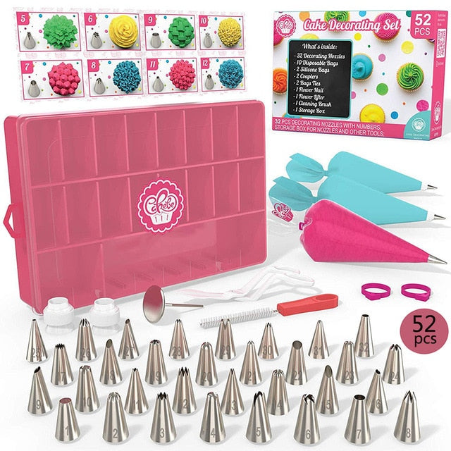 52 Piece Cake Decorating Set