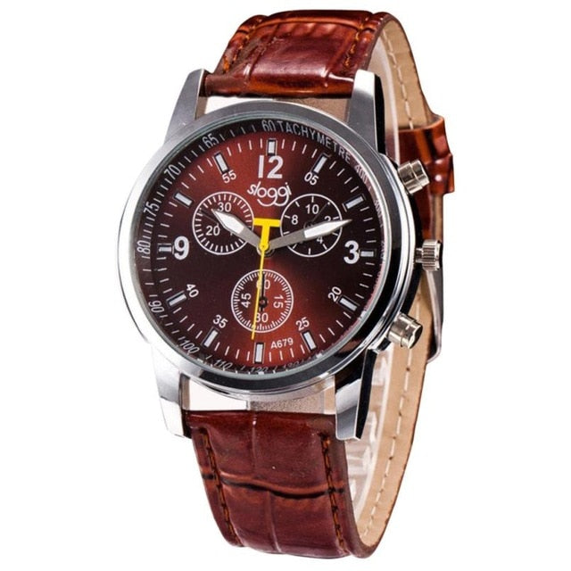 Croc Leather Watch