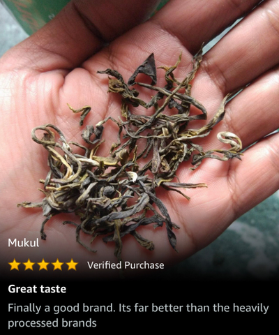 Long Leaf Green Tea from Assam