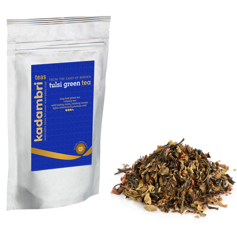 Buy Tulsi Green Tea Online Organic Tulsi Green Tea
