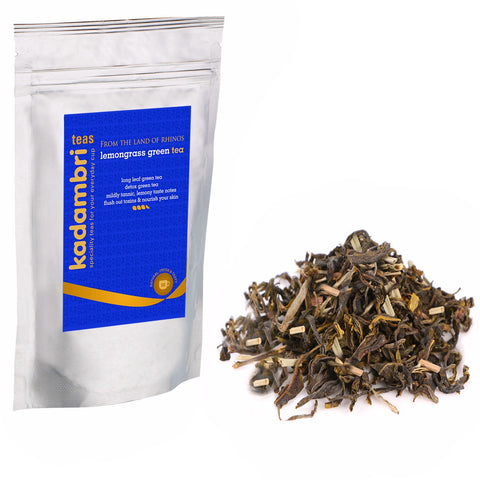 kadambri tea - The Indian Chai Organic Lemongrass Leaves - 100 Grams
