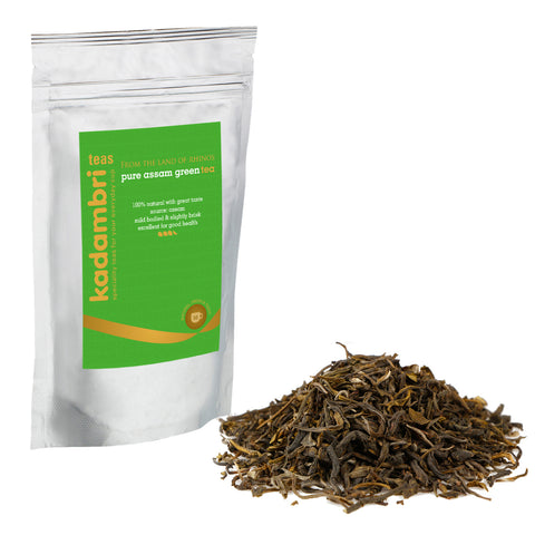 Shop Loose Leaf Green Tea Leaves Online in India - kadambri teas green tea