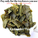 organic green tea from india - loose leaf tea - kadambari green teas