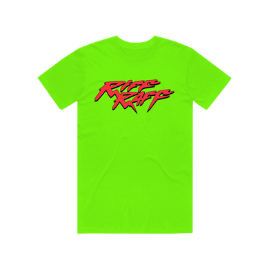 RiFF RAFF LOGO T-SHiRT - NEON AND RED