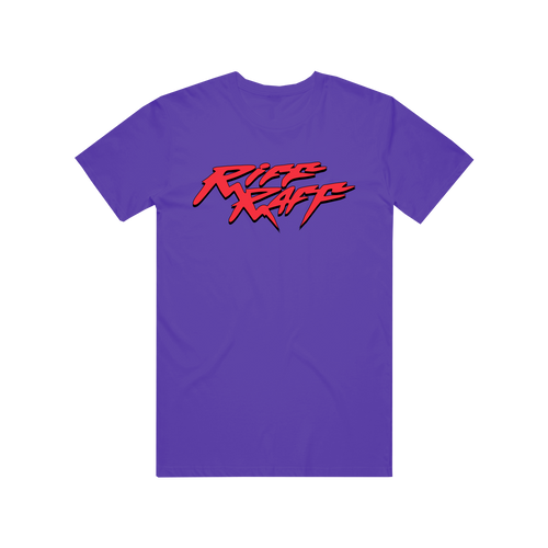 RiFF RAFF LOGO T-SHiRT - PURPLE