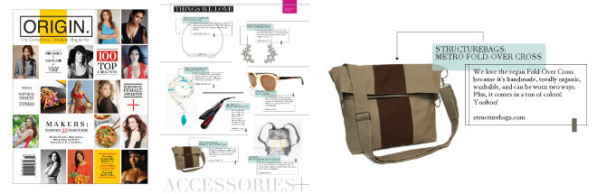 Origin Magazine loves our Fold-over Cross