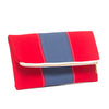 Foldover Clutch {stripe}