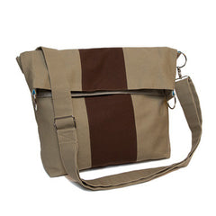 Metro Fold-Over Cross {Khaki}