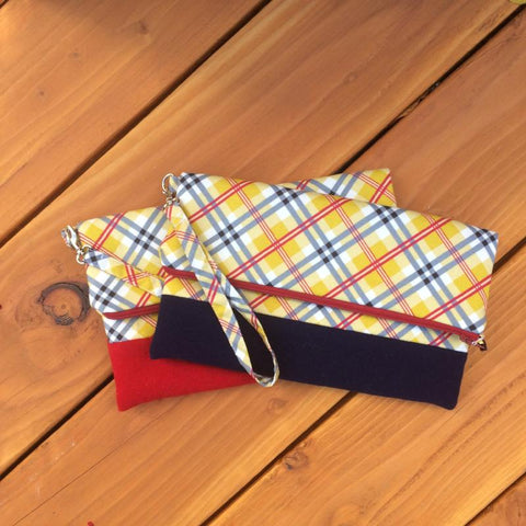 Wool + Cotton Clutch {Various}