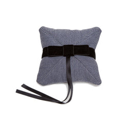 Gala Ring Pillow {Cadet Grey}