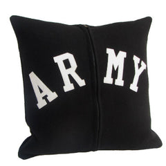 Letterman Pillow {Army}