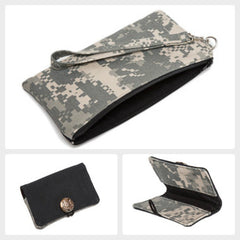 Pencil Wristlet & Bifold Gift Set {Camo}
