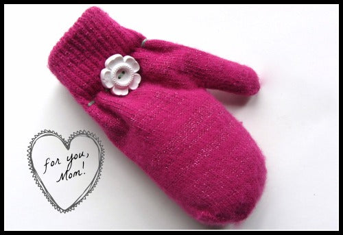 Mitten Sachet for Mom
