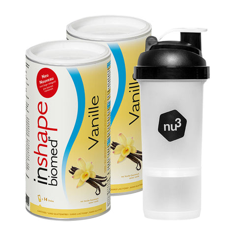 nu3 InShape-Biomed starter pack SmartShake original inclus