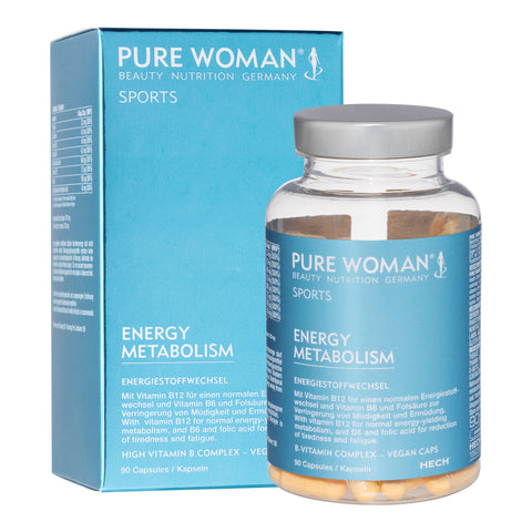 Pure Woman Sports Energy Metabolism, capsules