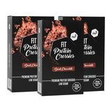 nu3 Fit Protein Crossies, rose des sables au chocolat