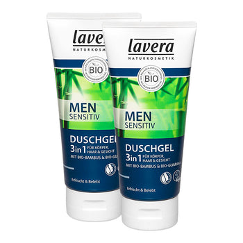 Lavera Men sensitiv gel douche 3 en 1