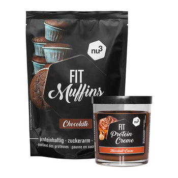 nu3 Fit Protein Muffins + nu3 Fit Protein Creme