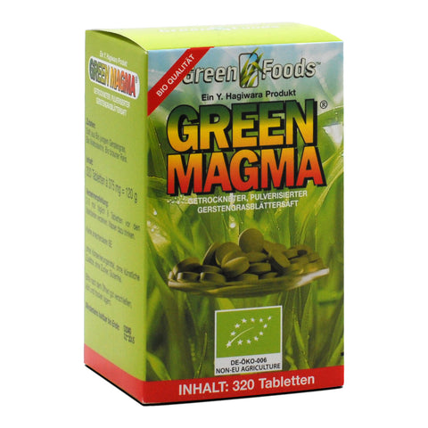 Green Foods Green Magma extrait d'herbe d'orge bio