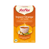 Yogi Tea Gingembre orange vanille bio